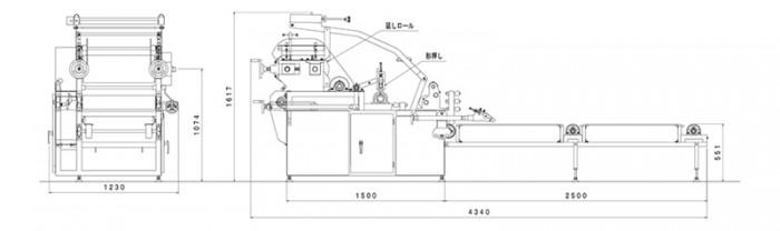 延機680型:寸法図